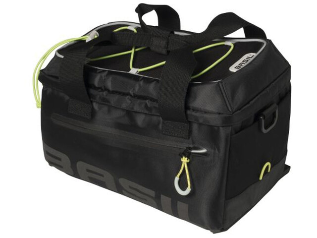 Basil Miles Gepäckträger Tasche 7l black lime